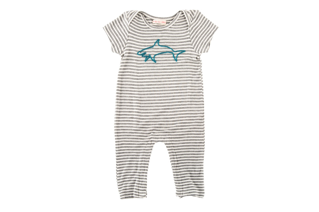 Shark Long Lounger Romper