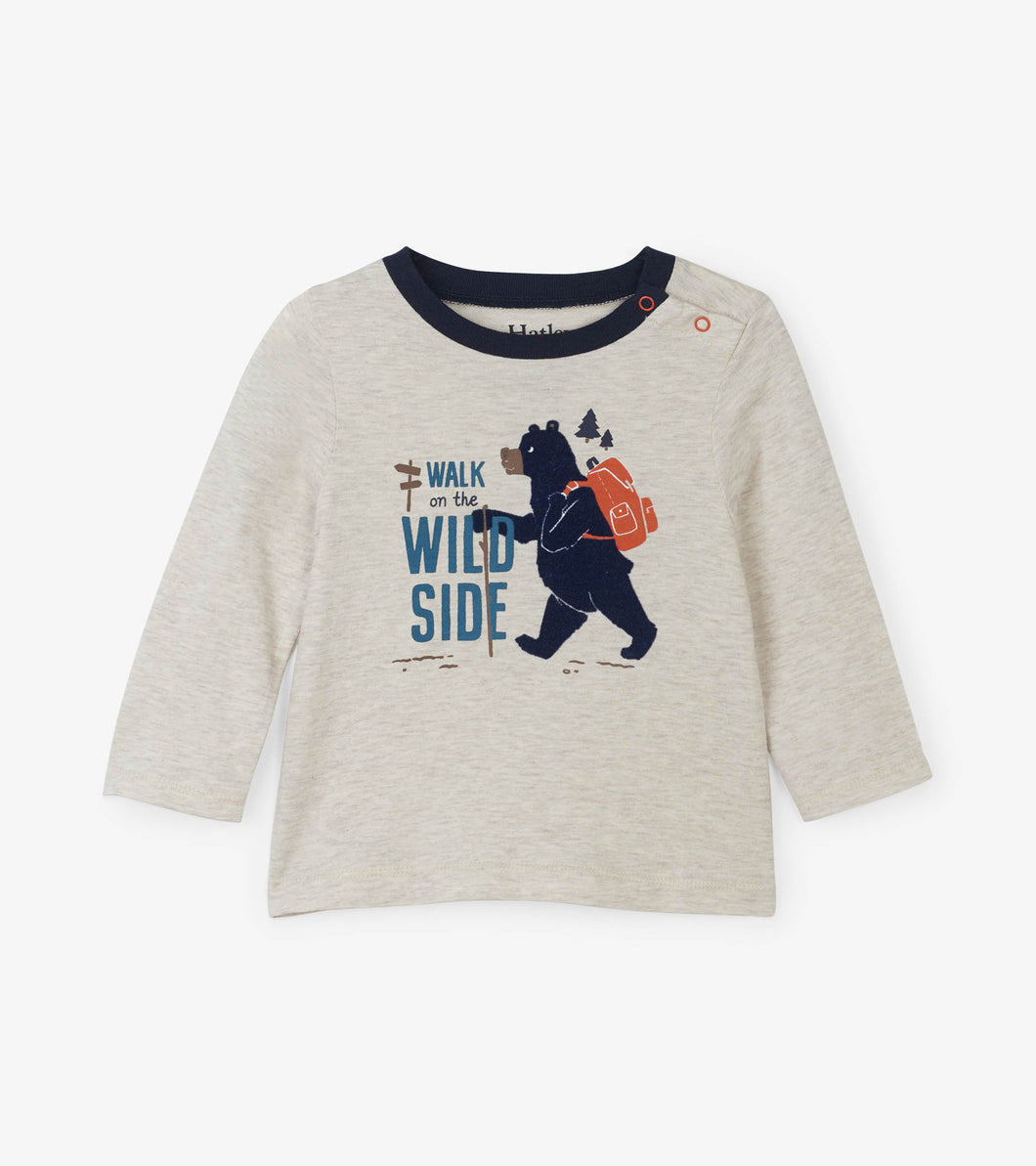 Wild Walk Long Sleeve Baby Tee