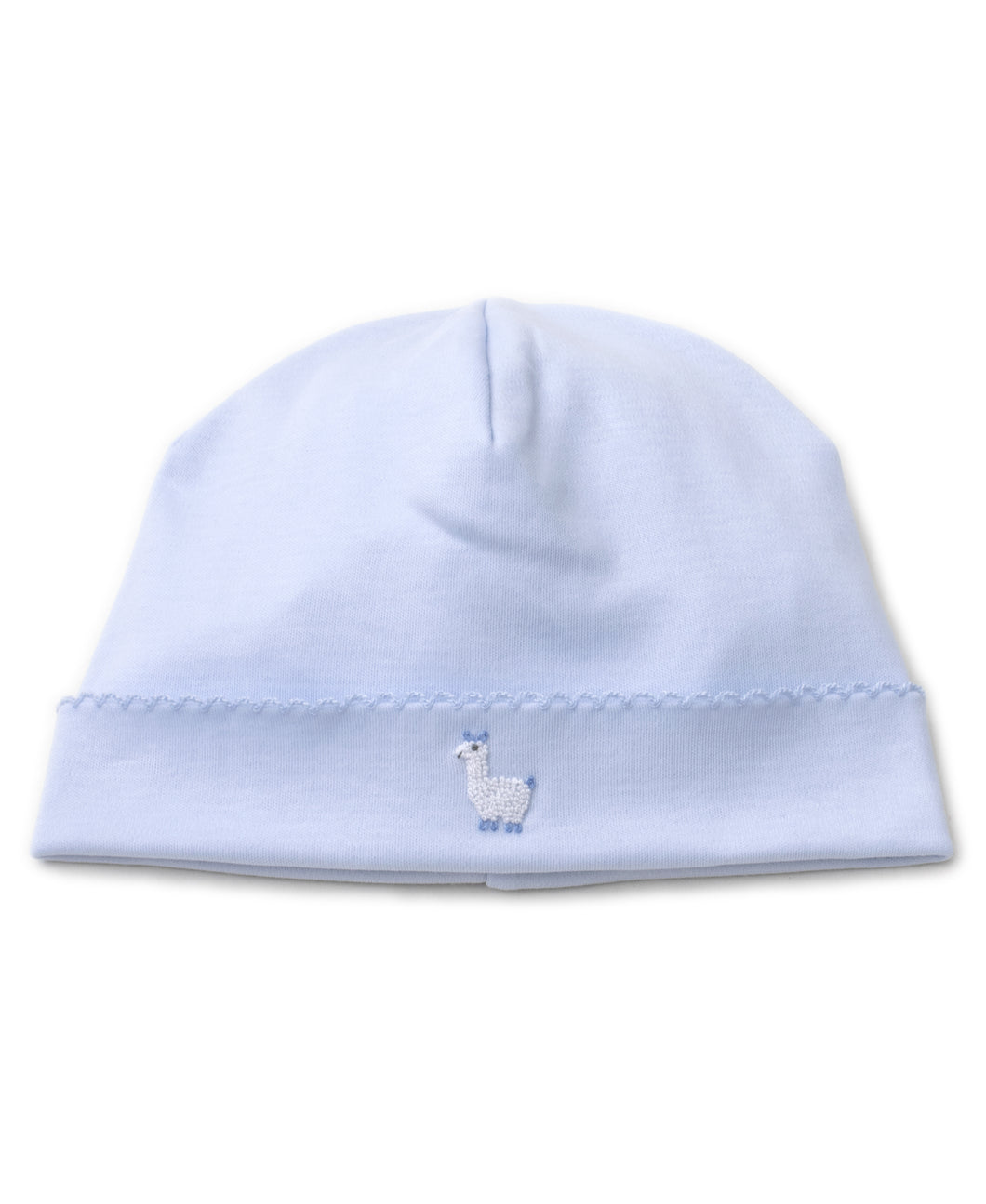 Premier Llama Family Hat with Hand Emb - Light Blue