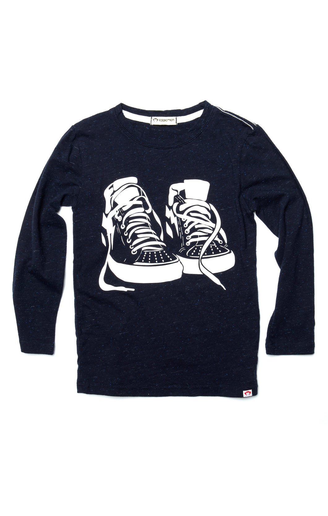 Graphic Long Sleeve Tee - Sneaker Game