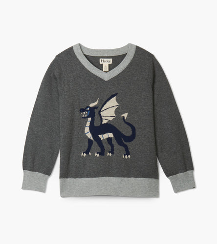 Noble Dragon V-neck Sweater
