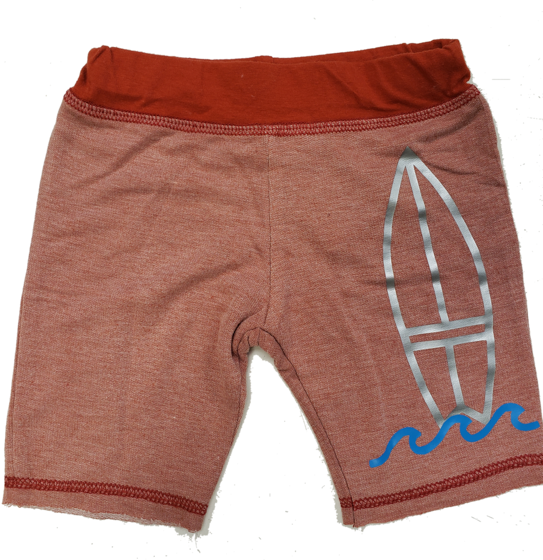 Surf Shorts in Rust