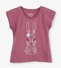 Load image into Gallery viewer, Pretty Bunny Baby Tee