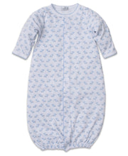 Load image into Gallery viewer, Baby Trunks Converter Gown - Light Blue