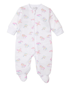 PJs Unicorn Utopia Footie w/ Zip PRT - Multi