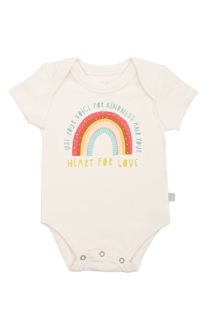 Kindness Rainbow Graphic Bodysuit