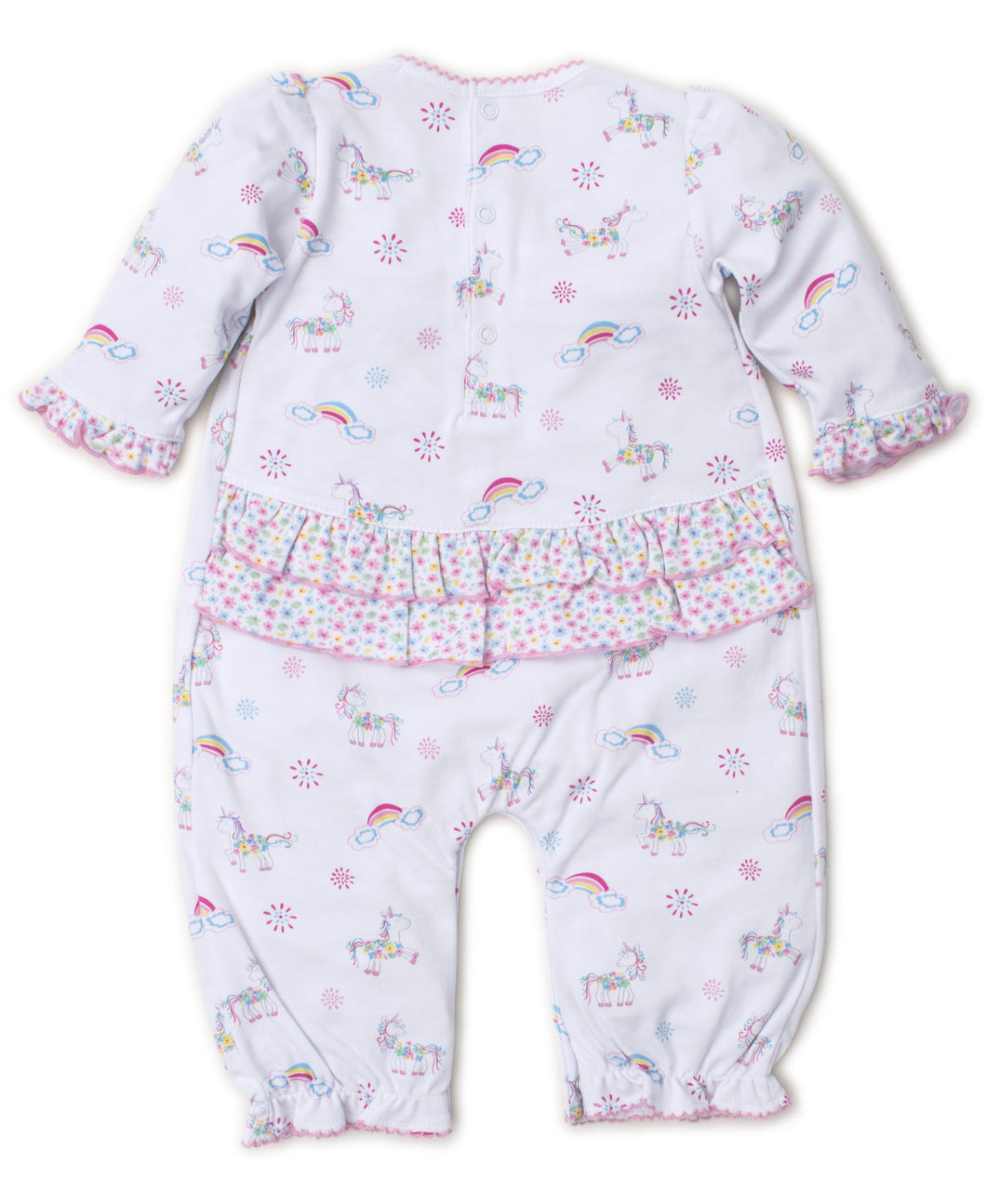 Rainbow Unicorns Playsuit PRT - Multi