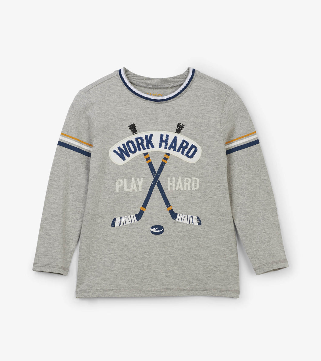 Hockey League Long Sleeve Tee