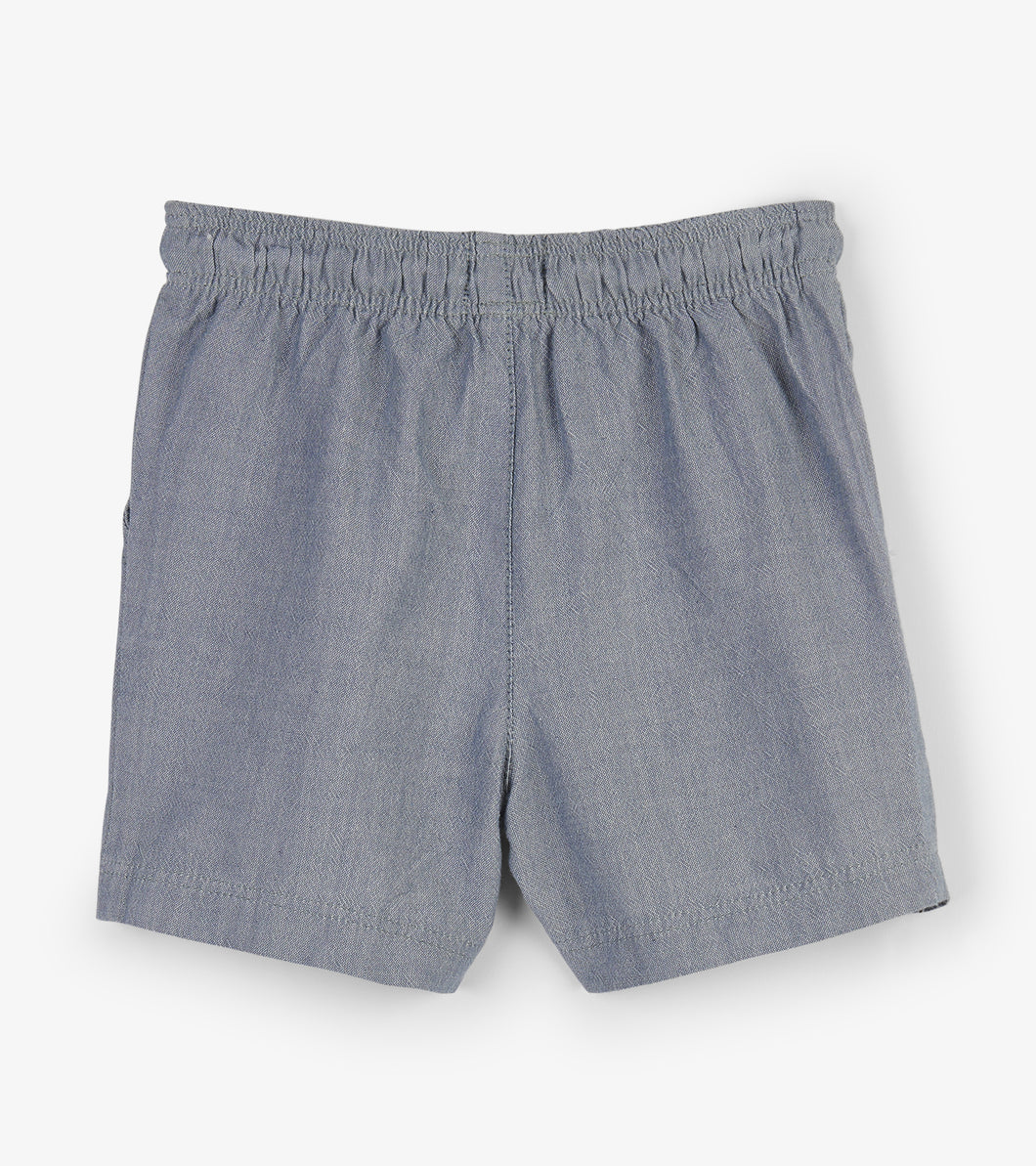 Chambray Baby Woven Short