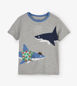 Sharp Dressed Shark Graphic Tee