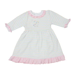 Sweet Unicorn Emb Dress Set PK