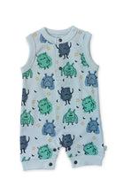 Load image into Gallery viewer, Tank Romper - Monsters