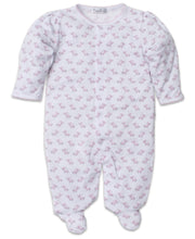 Load image into Gallery viewer, Baby Trunks Footie - Pink