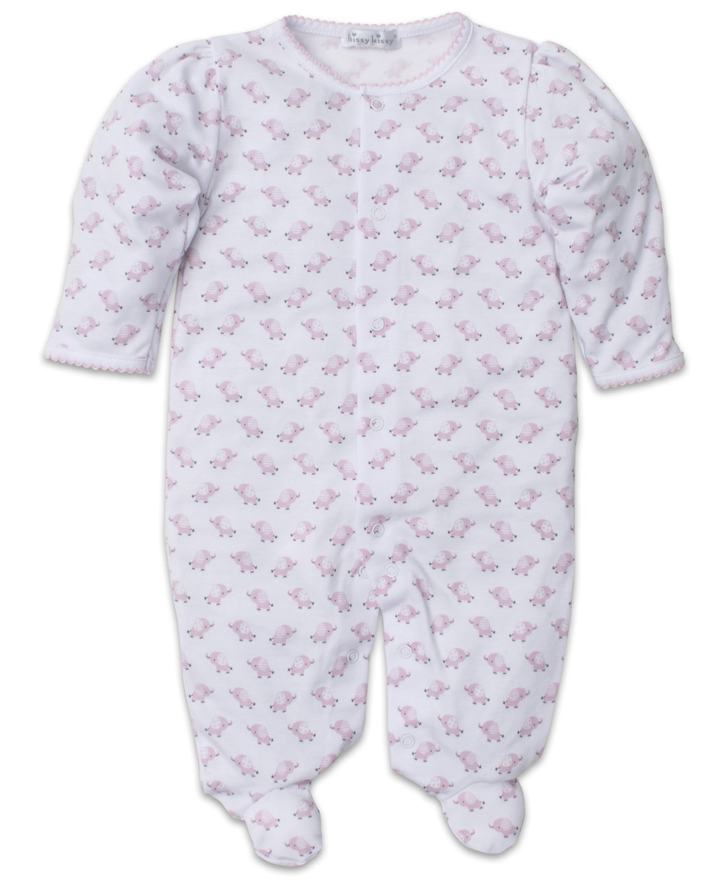 Baby Trunks Footie - Pink