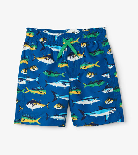 Game Fish Swim Trunks - Seaport