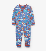 Load image into Gallery viewer, Ocean Friends Organic Cotton Overall