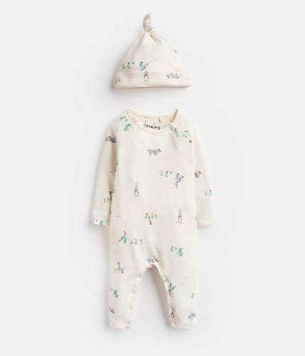 Giggle Supersoft Babygrow And Hat Set