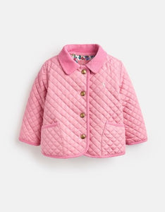 Mabel Quilted Jacket - Cherry Blossom