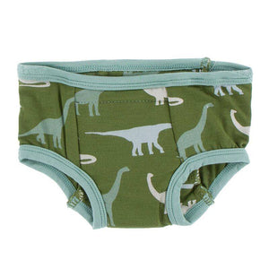 Training Pants Set - Moss Sauropods and Shore Ferns