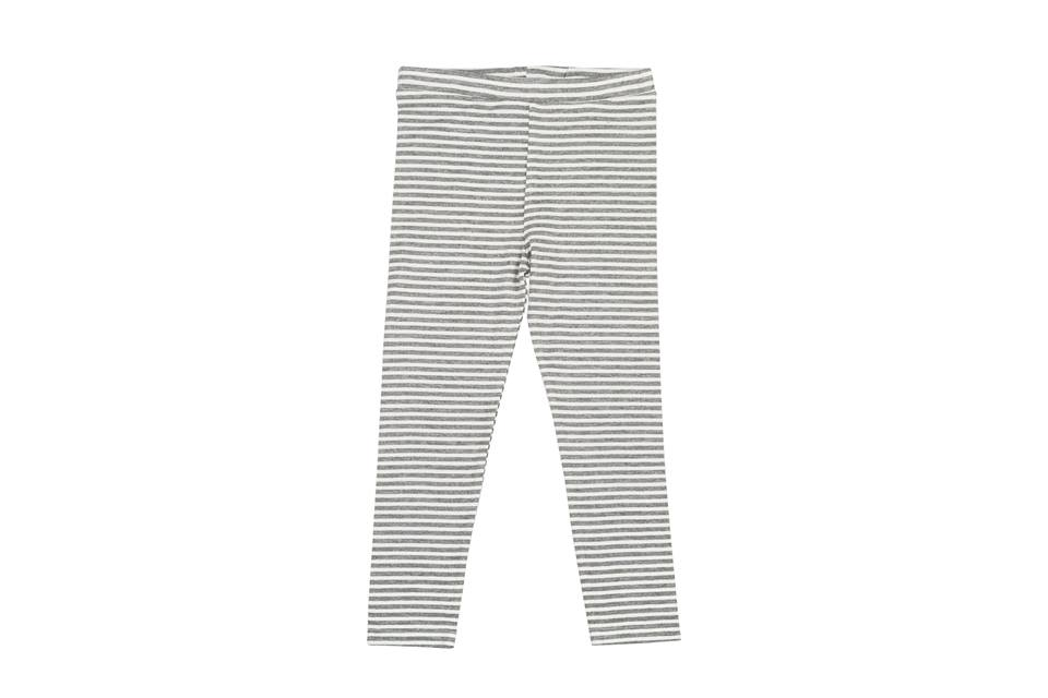 Super Soft Stripe Legging - Grey