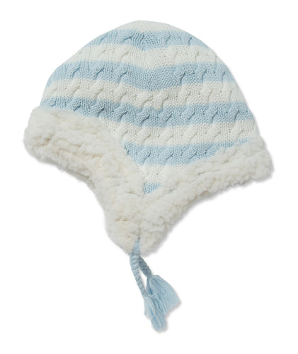Sherpa Pilot Hat - Pale Blue