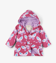 Load image into Gallery viewer, Decorative Butterflies Baby Raincoat