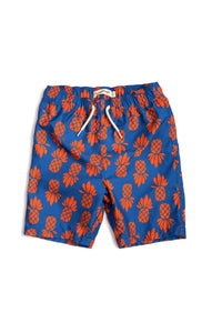 City Pineapple Mid Length Trunks