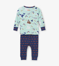 Load image into Gallery viewer, Arctic Friends Organic Cotton Baby Pajama Set