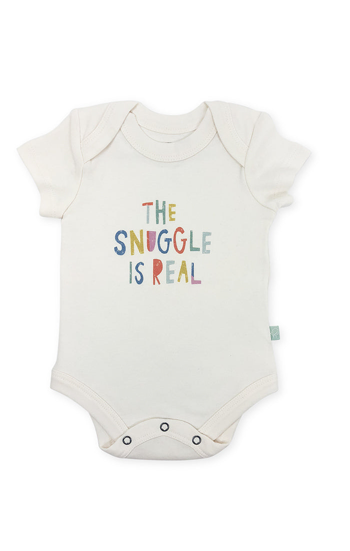 Snuggle is Real Graphic Body Suit