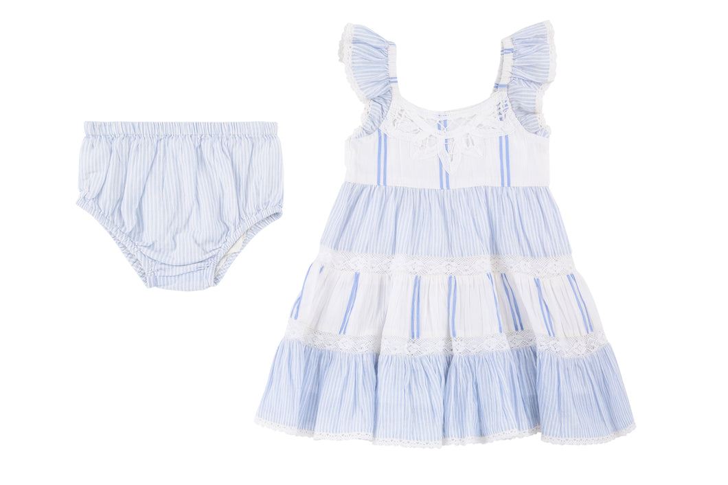 Sky Dress and Diaper Cover