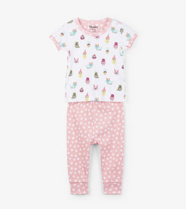 Funny Creatures Organic Cotton Baby Pajama Set