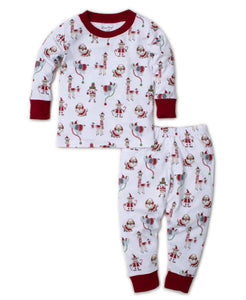 PJs Jungle Christmas Pajama Set Snug - Multi