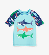Load image into Gallery viewer, Sea Creatures Short Sleeve Rashguard