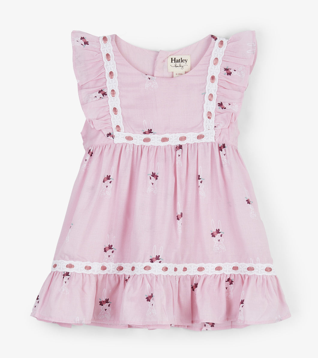 Bunny Fluffle Baby Party Dress
