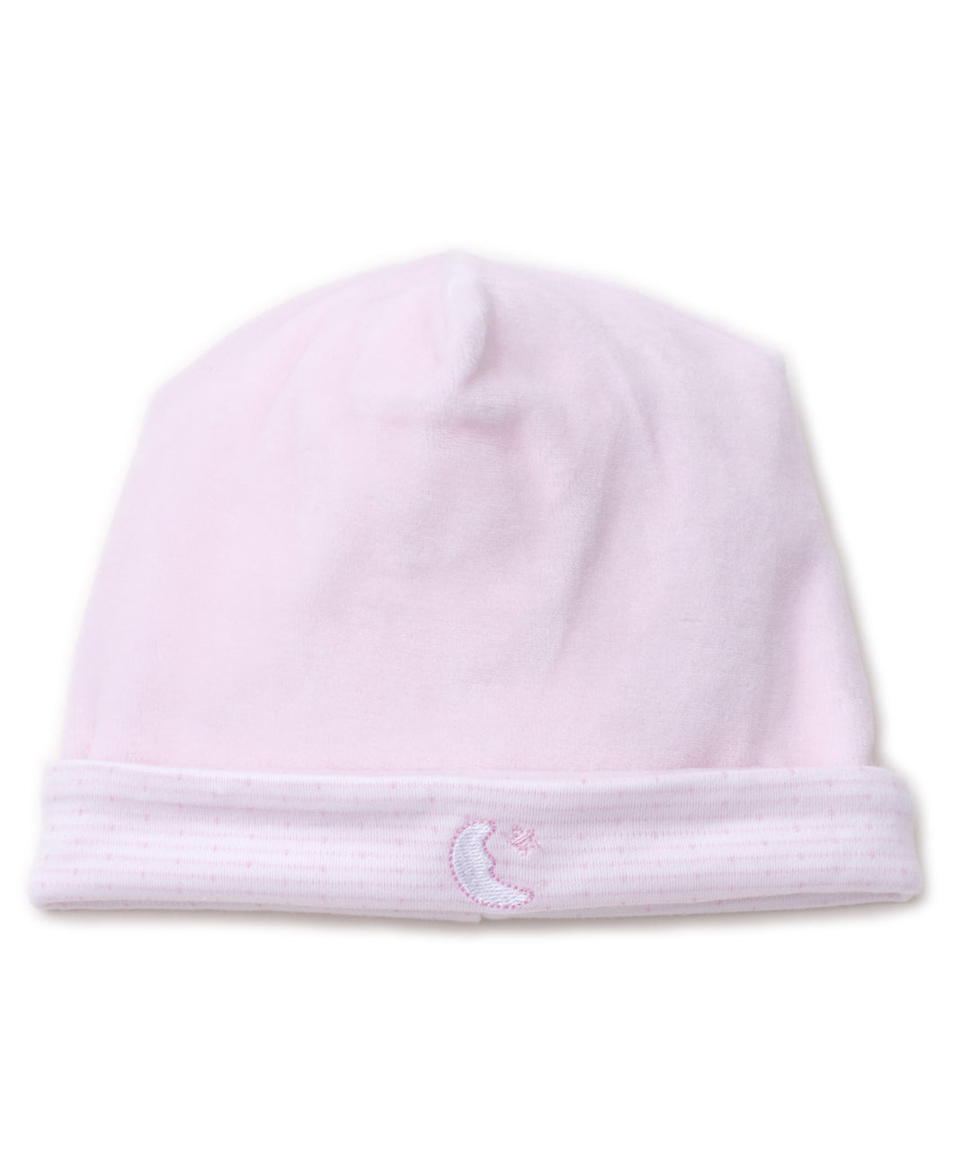 Man in the Moon Velour Hat - Pink