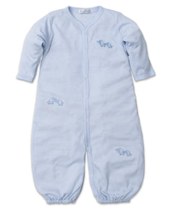 Baby Trunks Converter Gown Str - Light Blue
