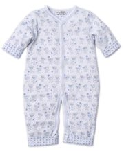 Load image into Gallery viewer, Monkey Moves Reversible Playsuit - Light Blue