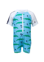 Load image into Gallery viewer, Croc Island SS Sunsuit