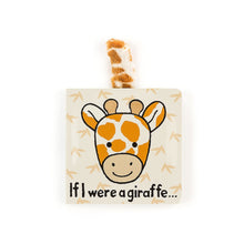 Load image into Gallery viewer, If I Were A Giraffe Book Jellycat