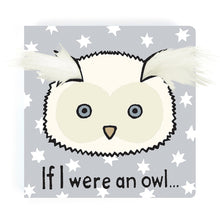 Load image into Gallery viewer, If I Were An Owl Book Jellycat