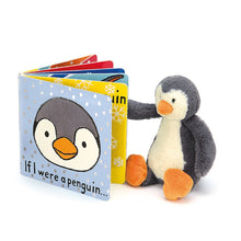 Load image into Gallery viewer, If I Were A Penguin Book Jellycat