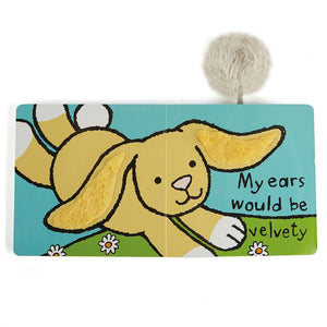 If I Were A Rabbit Board Book Jellycat