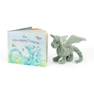 The Hiccupy Dragon Book Jellycat