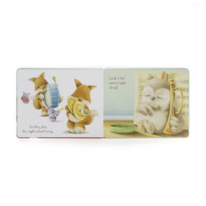 Wake Up Little Owl Book Jellycat