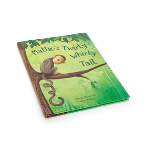 Mattie's Twirly Whirly Tail Book Jellycat