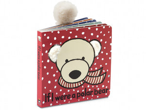 Polar Bear Board Book Jellycat