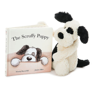 Scruffy Puppy Book Jellycat