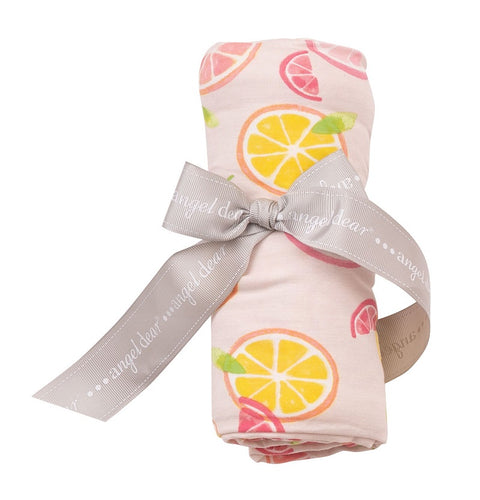Citrus Swaddle Blanket 45X45
