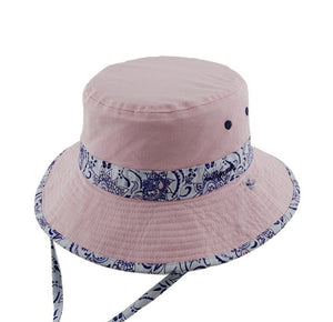 Baby Girls Floppy Hat - Evie Blue