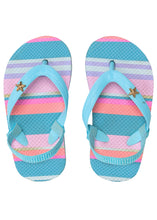 Load image into Gallery viewer, Tutti Frutti Stripe Flip Flop Toddler